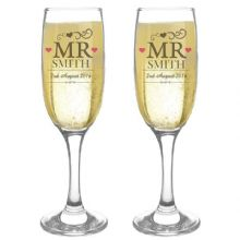 Mr & Mr Pair of Flutes